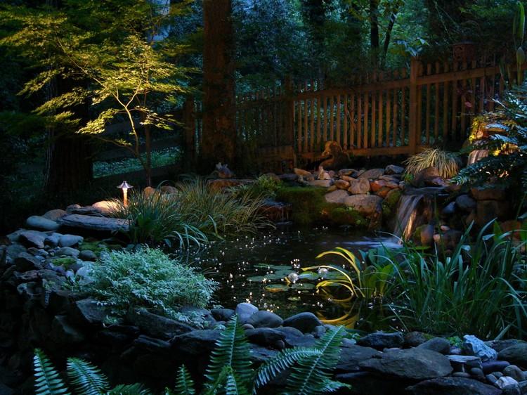освещение в ландшафтном дизайне13