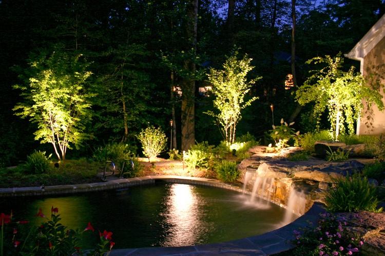 освещение в ландшафтном дизайне3