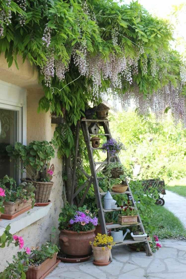 садовые украшения из старых вещей18