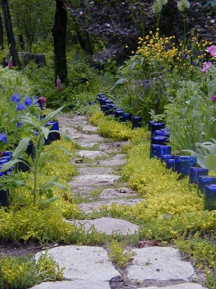 садовые украшения из старых вещей25