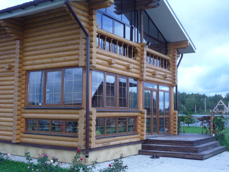 к деревянному фото балкон дому