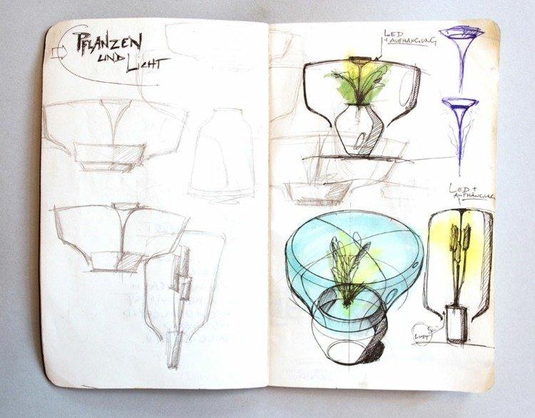 led-pflanzenlampe-zeichnung-plan-blumentopf-licht