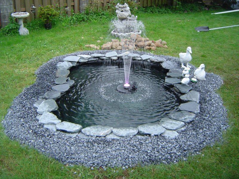 фонтан на дачном участке